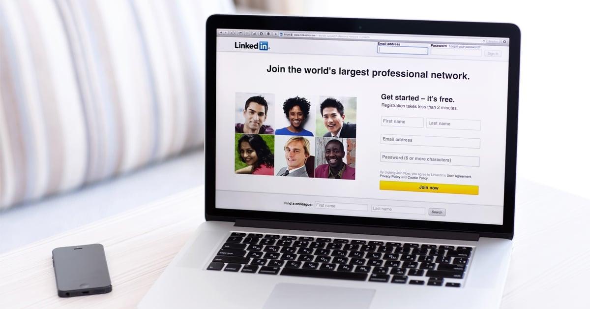 Salgsteam bruke LinkedIn