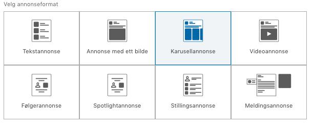 Annonseformat-LinkedIn